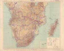 Afrika 1:5.000.000. Süd- Afrika