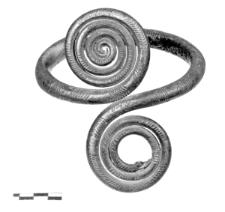 naramiennik z tarczkami (Psary) - analiza metalograficzna