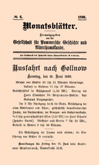 Monatsblätter Jhrg. 13, H. 6 (1899)