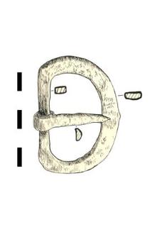 belt buckle, iron