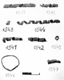 band spiral (Samborzec) - metallographic analysis