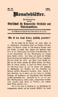Monatsblätter Jhrg. 13, H. 10 (1899)