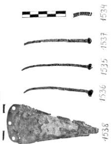 sztylet plus 3 nity (Mierczyce) - analiza metalograficzna