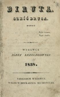 Biruta 1838 Cz.1