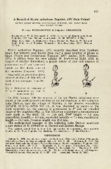 A record of Myotis nathalinae Tupinier, 1977 from Poland