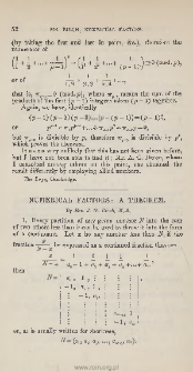 Note on a problem in the theory of numbers