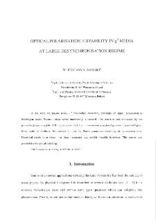Optical Polarisation Bistability in χ2 Media at Large Desynchronisation Regime