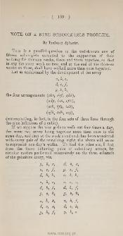 on a case of the involution AF+BG+GH=0, where A, B, F, G, H are ternary quadrics