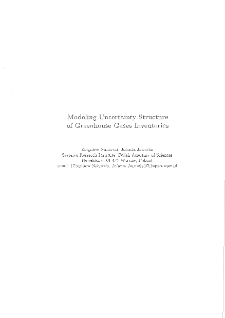 Modeling Uncertainty Structure of Greenhouse Gases Inventories