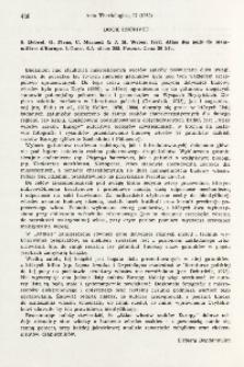 Book received. S. Debrot, G. Fivaz, C. Mermod, J. M. Weber, 1982: Atlas des poils de mammifères d'Europe. L'Ouest S. A., Peseux, 208 pp