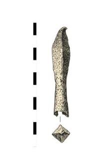 grot bełtu, żelazny