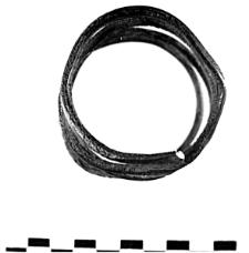 bransoleta z taśmy spiralnej (Rudki) - analiza metalograficzna