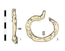 1. przedmiot, żelazny