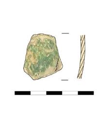vessel's belly, fragment