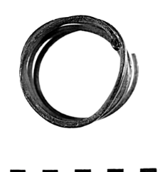 bracelet of a spiral band (Rudki) - chemical analysis