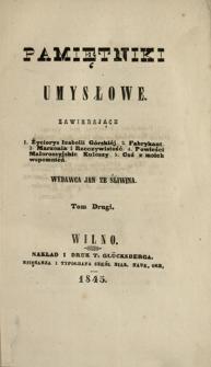 Pamiętniki Umysłowe 1845 T.2
