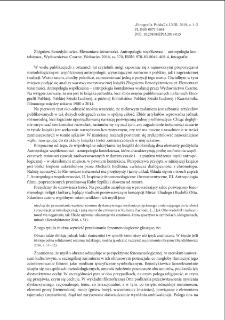 Elementarz tożsamości. Antropologia współczesna – antropologia kontekstowa, Zbigniew Benedyktowicz, Wydawnictwo Czarne, Wołowiec 2016, ss. 570, ISBN: 978-83-8049-408-4, fotografie : recenzje]
