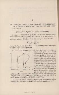 On definite double integration, supplementary to a former paper on the motion and rest of fluids