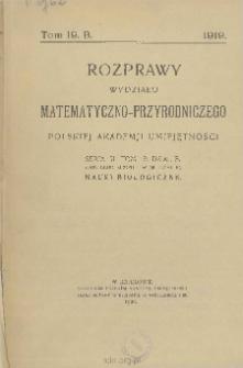 Rozprawy Wydziału Matematyczno-Przyrodniczego Akademji Umiejętności. Ser. 3. Dział A/B. Tom 19 (59)