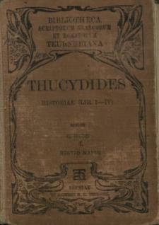Thucydidis Historiae. Vol. 1, Lib. 1-4