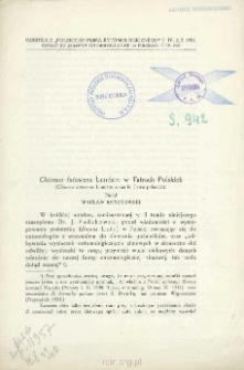 Chionea lutescens Lundstr. w Tatrach Polskich = Chionea lutescens Lundstr. dans le Tatra polonais