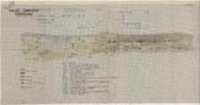 KZG, VI 402 C, 502 A, profil archeologiczny N wykopu