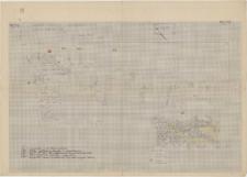 KZG, VI 401 AB, plan archeologiczny wykopu