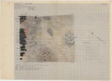 KZG, VI 501 A, plan archeologiczny wykopu