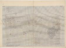 KZG, VI 501 AB, plan archeologiczny wykopu