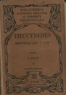 Thucydidis Historiae. Vol. 2, Libri 5-8