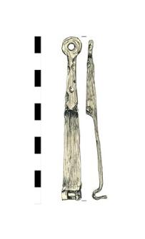 klucz, żelazny