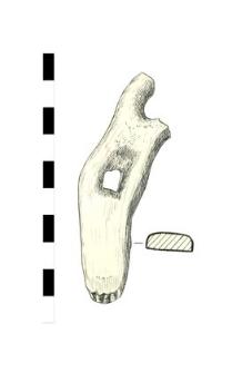 horseshoe, iron, fragment