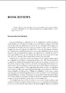 "Context, Connoisseurship and the History of Roman Art. Elizabeth Marlowe, Shaky Ground, London, New Delhi, New York, Sydney 2013: Bloomsbury Academic, ""Debates in Archaeology"" Series, pp. 184 : [recenzja]"
