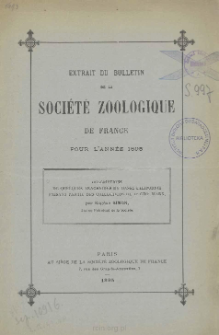 Descriptions de quelques arachnides de Basse-Californie faisant partie des collections du Dr Geo. Marx