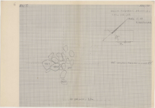 KZG, VI 602,702, plan archeologiczny wykopu