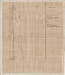 KZG, VI 301 CD, 401 AB, plan archeologiczny wykopu (rów fundamentowy kościoła A)