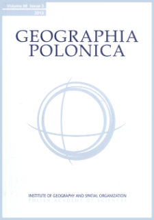 Geographia Polonica Vol. 93 No. 1 (2020), Contents