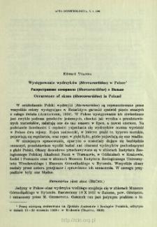 Występowanie wydrzyków (Stercorariidae) w Polsce