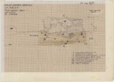 KZG, VI 402 A, profil archeologiczny wschodni filaru N kolegiaty