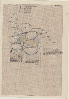 KZG, VI 402 C, profil archeologiczny S wykopu