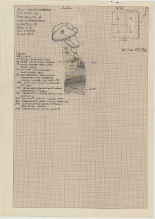KZG, VI 402 C, profil archeologiczny S (?) wykopu