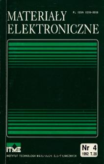 Spis treści 1992 T.20 nr 4
