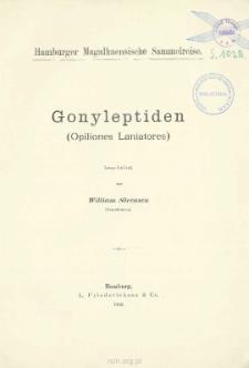 Gonyleptiden (Opiliones Laniatores)