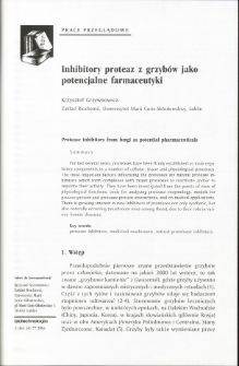 Protease inhibitors from fungi as potential pharmaceuticals