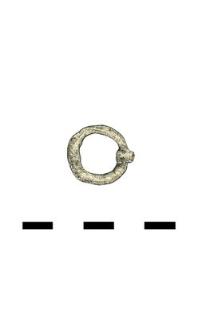 decoration, bronze, fragment