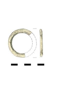 roundel, bone, fragments