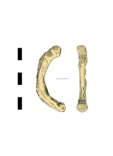 kółko, żelazne, fragment