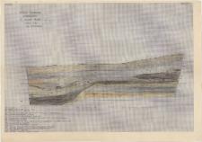 KZG, I 600 B D, profil archeologiczny S wykopu