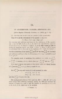 On quaternions, nonions, sedenions, etc.