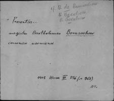 Kartoteka Słownika staropolskich nazw osobowych; Bor - Br